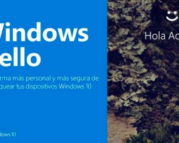Seguridad Biométrica con Windows 10 Hello