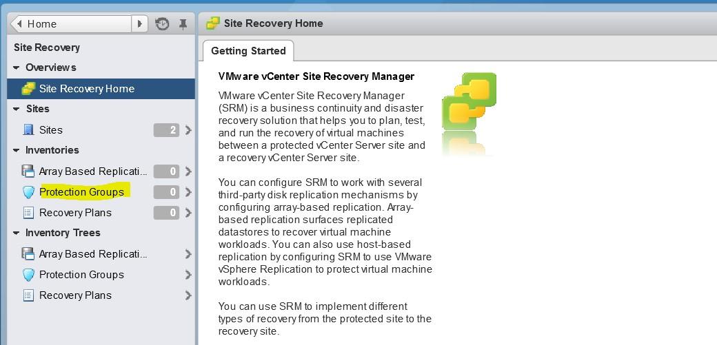 Instalación Site Recovery Manager (SRM) Parte 4