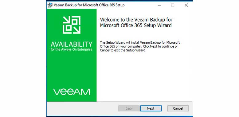 Instalación Veeam Backup para Office 365 (Parte 1) 2