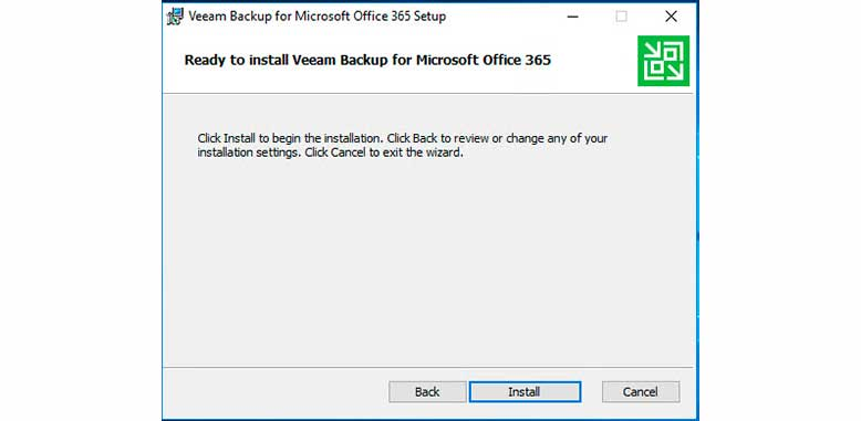 Instalación Veeam Backup para Office 365 (Parte 1) 5