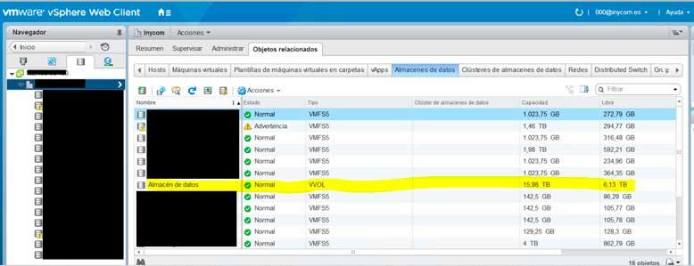 Instalación y configuración Vmware VVol (Parte 2)-9