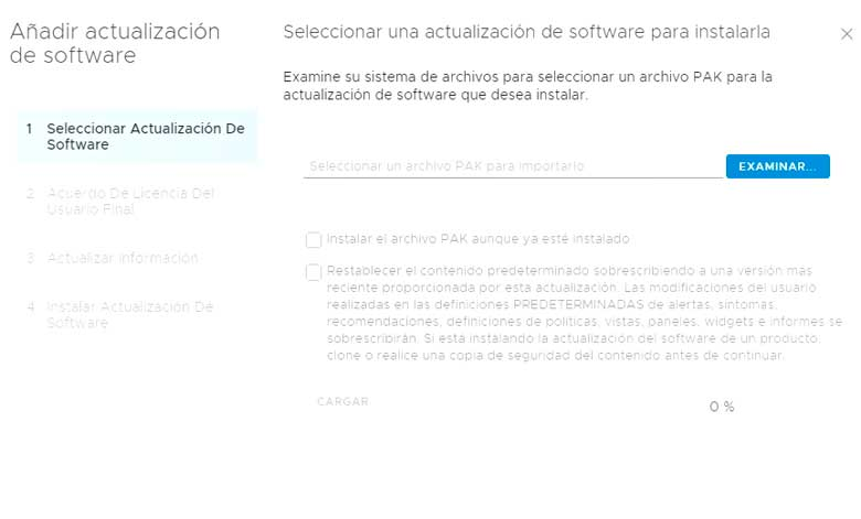 Actualización vRealize Operations Manager 7.5 (Parte 1) 4