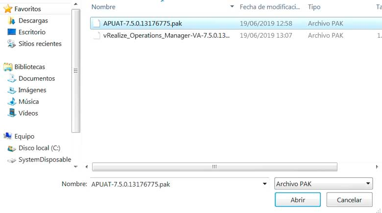 Actualización vRealize Operations Manager 7.5 (Parte 1) 5