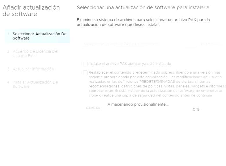 Actualización vRealize Operations Manager 7.5 (Parte 2) 3
