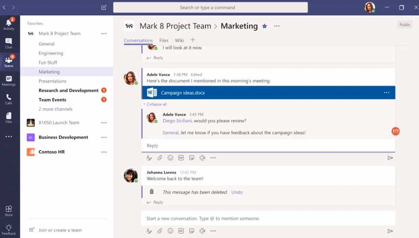 Microsoft Teams: Equipos, Canales y mucho más