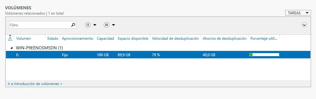 Instalación repositorio Deduplicado Windows 2016 para Veeam 8