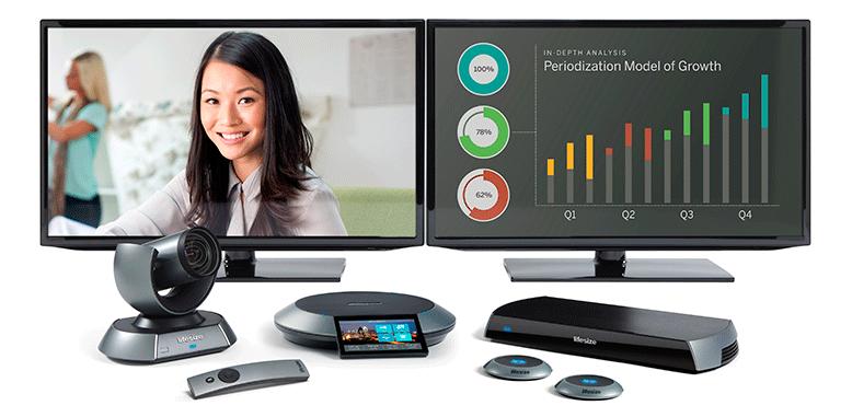 Soluciones LifeSize para videoconferencias en alta definición y software para conferencias web