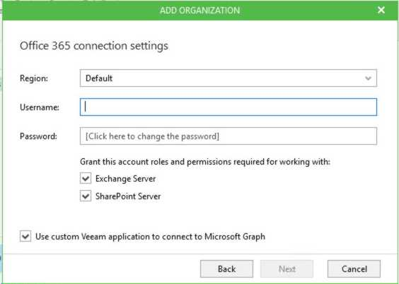 Instalación Veeam Backup Office365 Parte 2-3