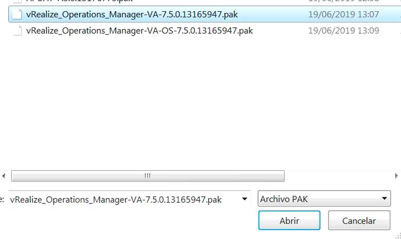 Actualización vRealize Operations Manager 7.5 (Parte 2) 12