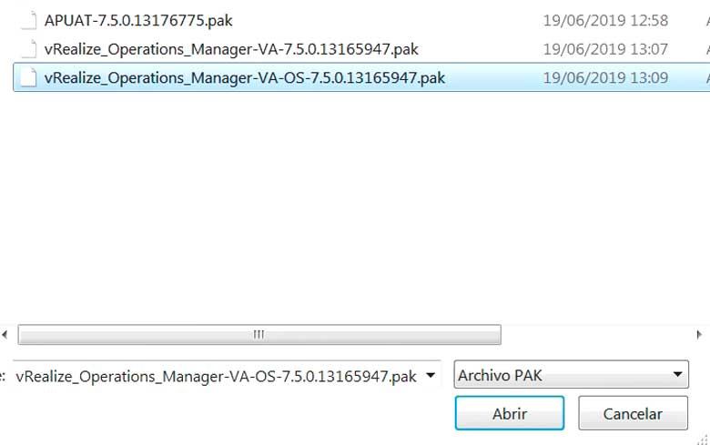 Actualización vRealize Operations Manager 7.5 (Parte 2) 2